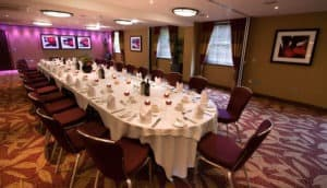 Chalfont Suite private dinner long table