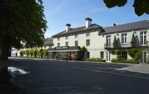 Exterior of the Bull Hotel in Gerrards Cross